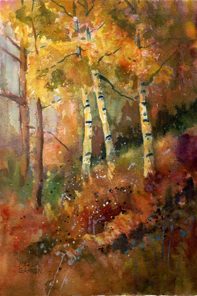"""Forest Colors"" original fine art by Melissa Gannon"