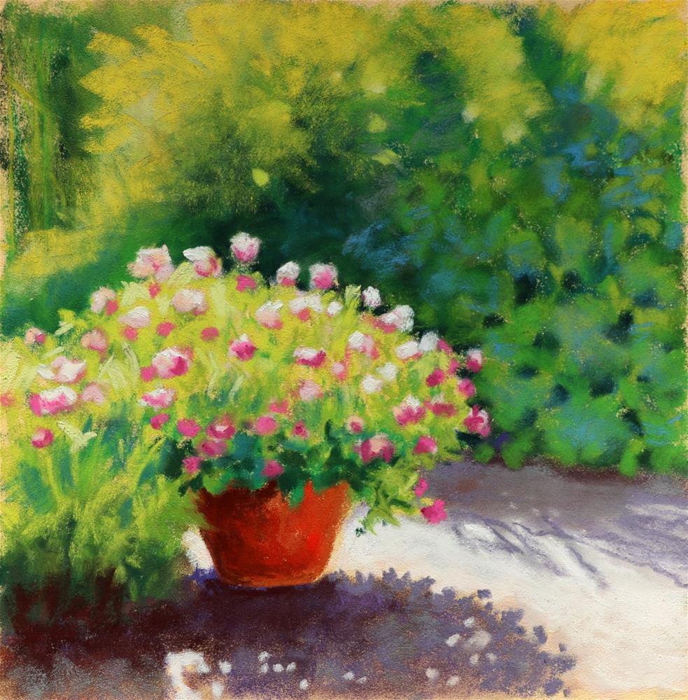 """Sun and Shadows"" original fine art by Christine Derrick"