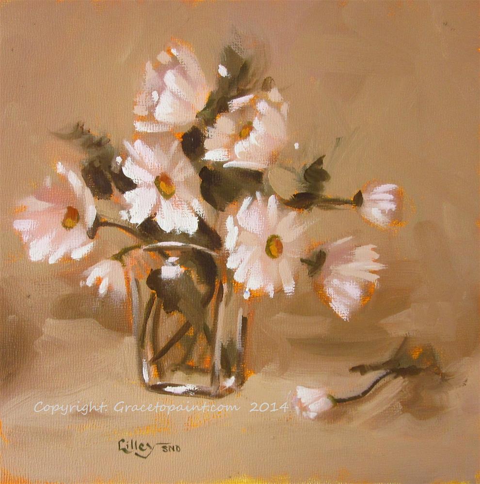"""Sweet Simplicity I"" original fine art by Maresa Lilley"