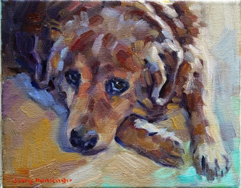 """""""Matilda"""" original fine art by jerry hunsinger"""