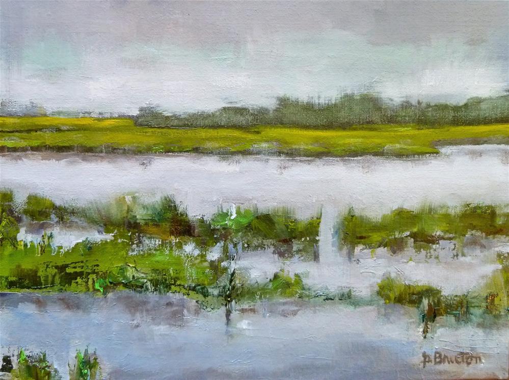 """Marsh"" original fine art by Gary Bruton"