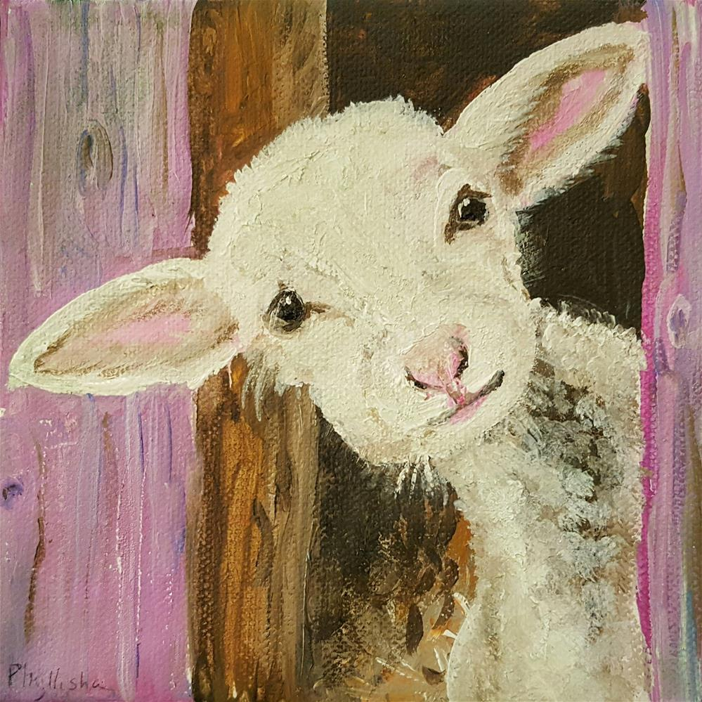 """Wilfred"" original fine art by Phyllisha Hamrick"