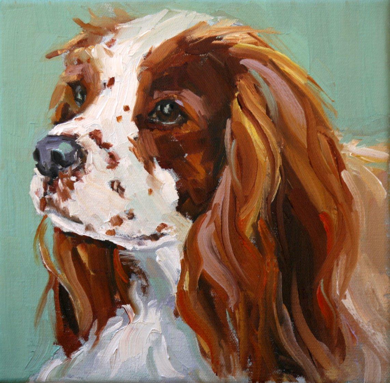 """charlie"" original fine art by Carol Carmichael"