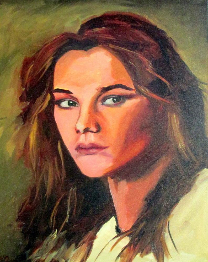 """Natalie"" original fine art by Will Dargie"