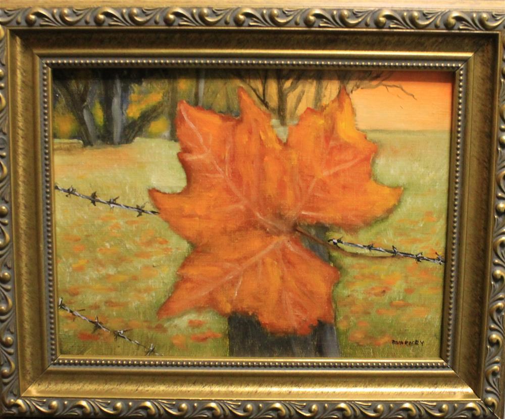 """Autumn Sunrise"" original fine art by Daniel Varney"