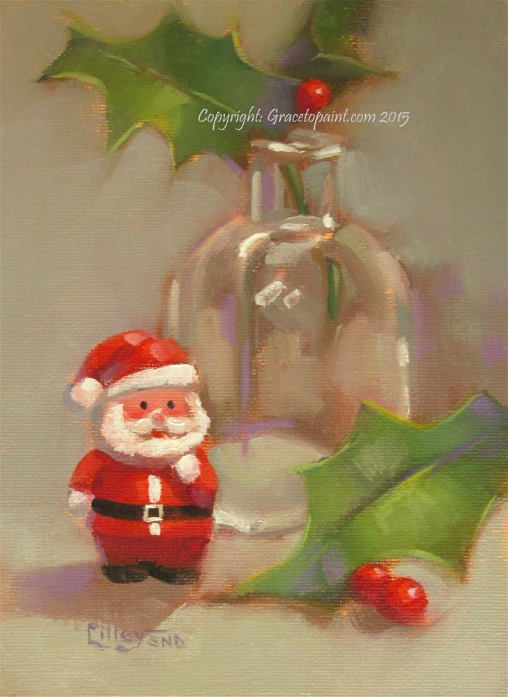 """Little Christmas"" original fine art by Maresa Lilley"