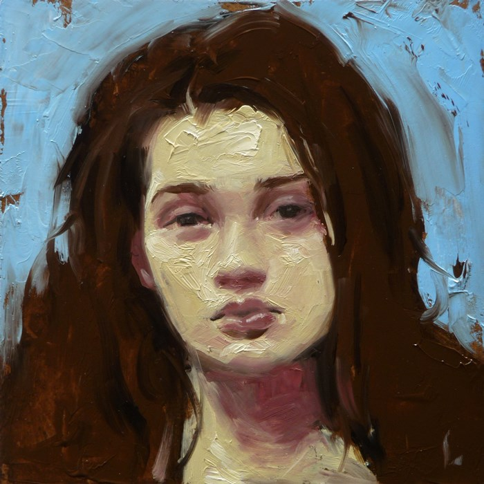 """Carving"" original fine art by John Larriva"