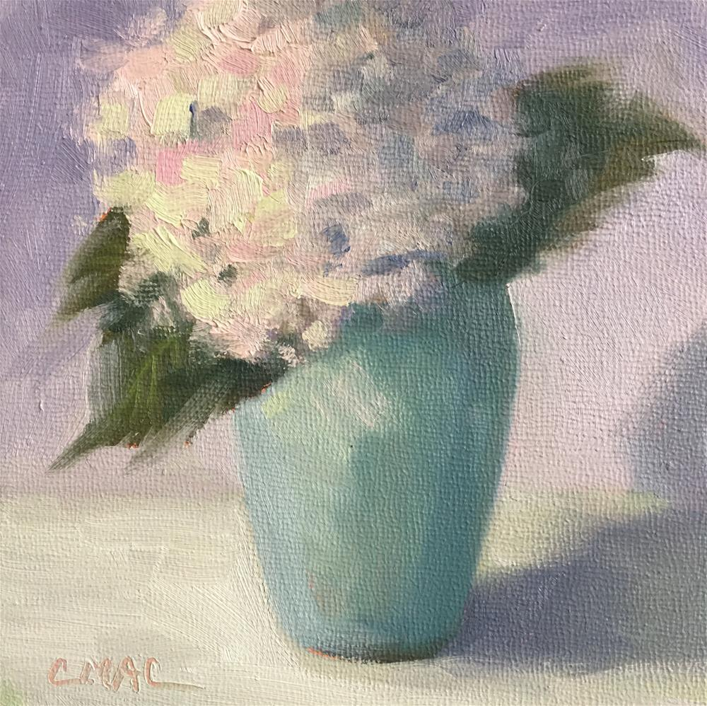 """Blushing"" original fine art by Carolyn McDonald"
