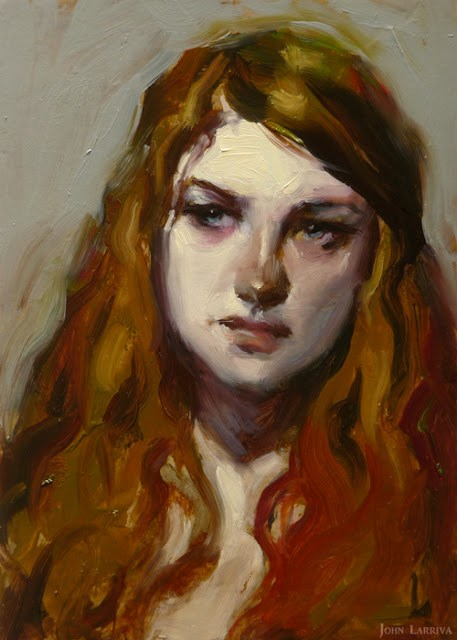 """Irked"" original fine art by John Larriva"