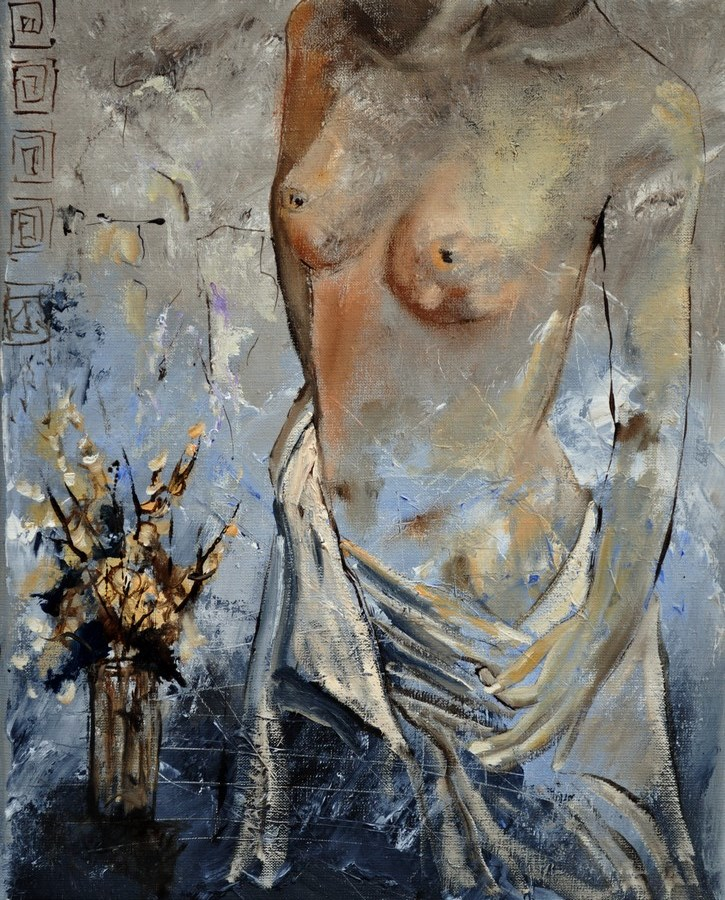 """nude 454111"" original fine art by Pol Ledent"