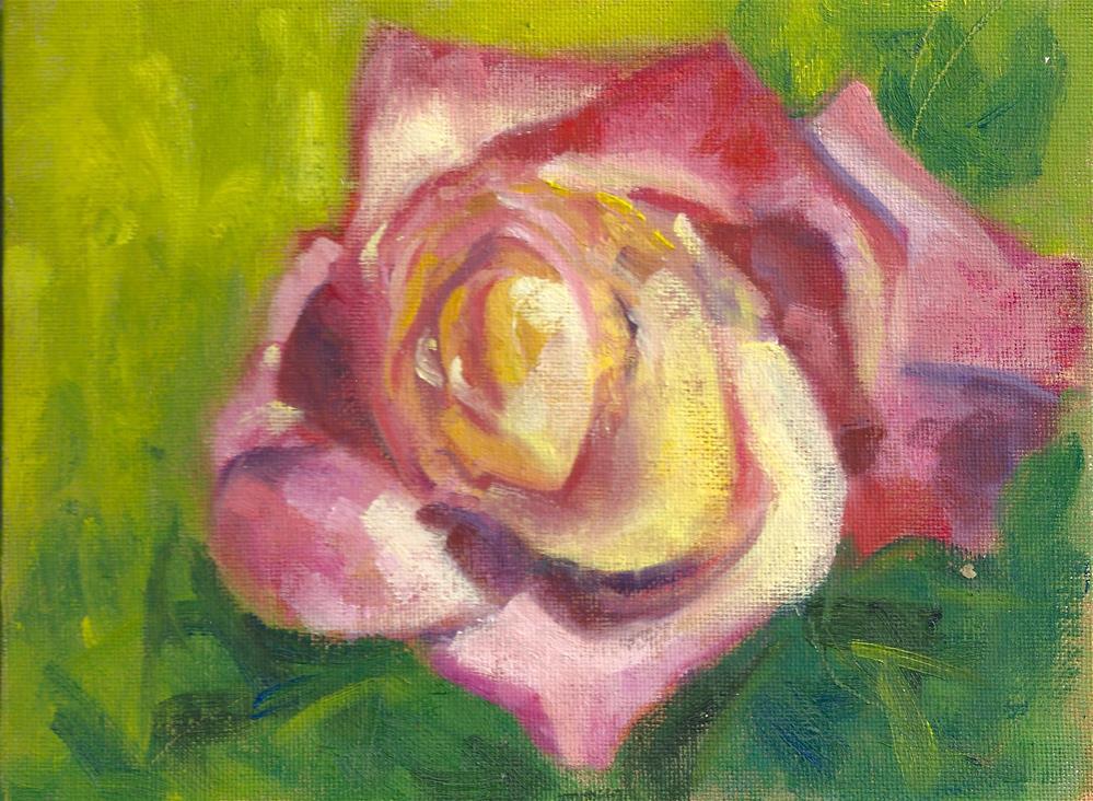 """""""Rose of Sharon"""" original fine art by Marlene Lee"""
