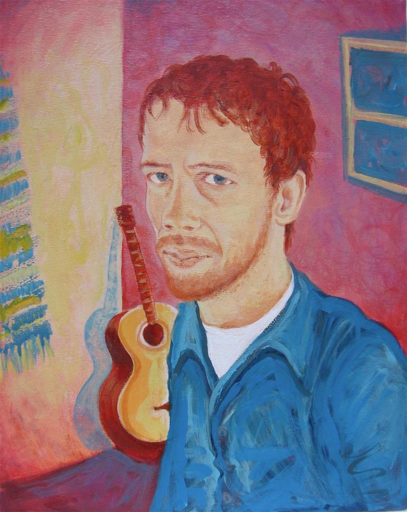 """""""Michael"""" original fine art by Karen Roncari"""