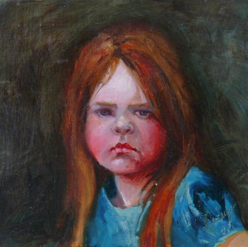 """Sunday's Child"" original fine art by Sharman Owings"