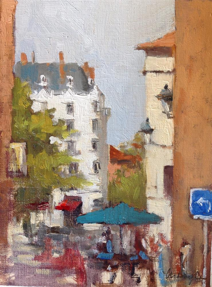 """Chez Pillon"" original fine art by Christine Bayle"