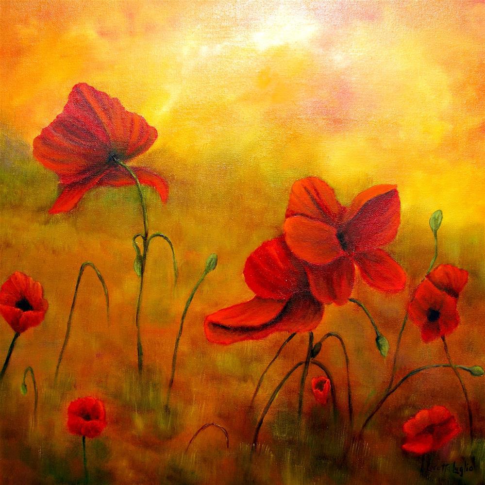"""Sun Dancers"" original fine art by Loretta Luglio"