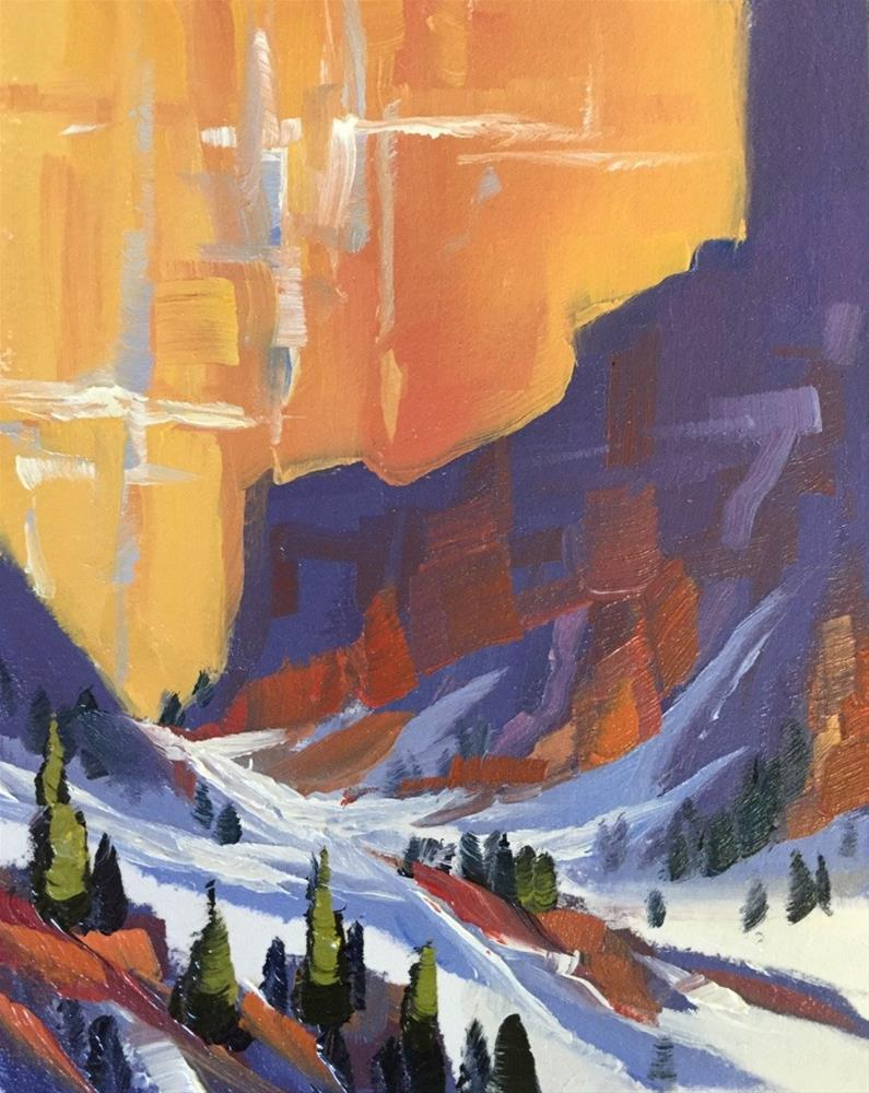 """Kolob Canyon 13"" original fine art by Mary Jabens"