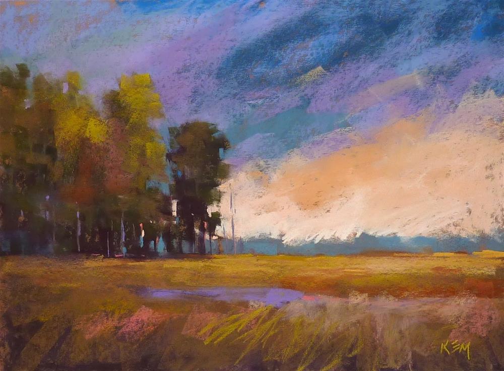 """Another Option for Toning Sanded Pastel Paper"" original fine art by Karen Margulis"