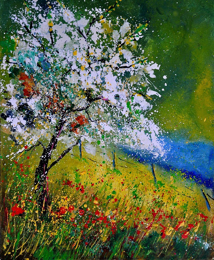 """Spring 451110"" original fine art by Pol Ledent"