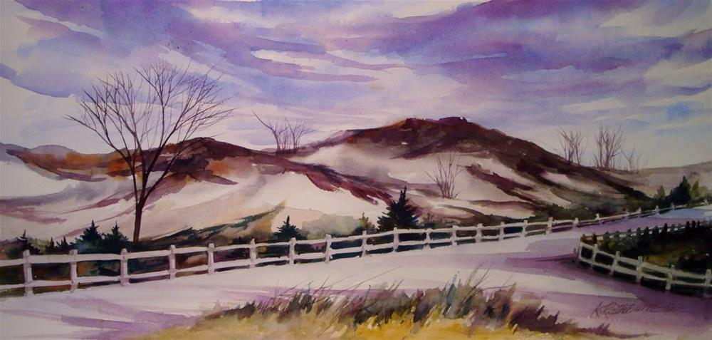 """West Beach"" original fine art by Kathy Los-Rathburn"
