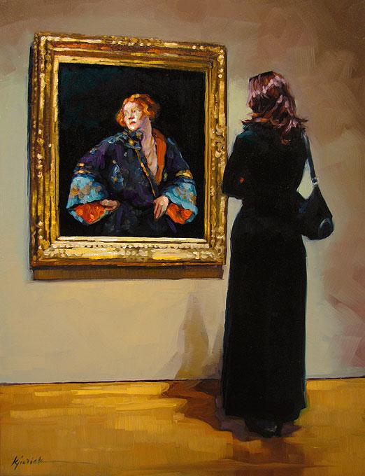 """Fashionistas"" original fine art by Karin Jurick"