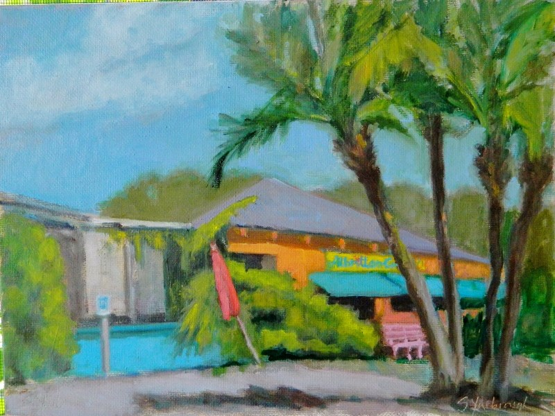 """Florida Colors"" original fine art by Sharon Yarbrough"