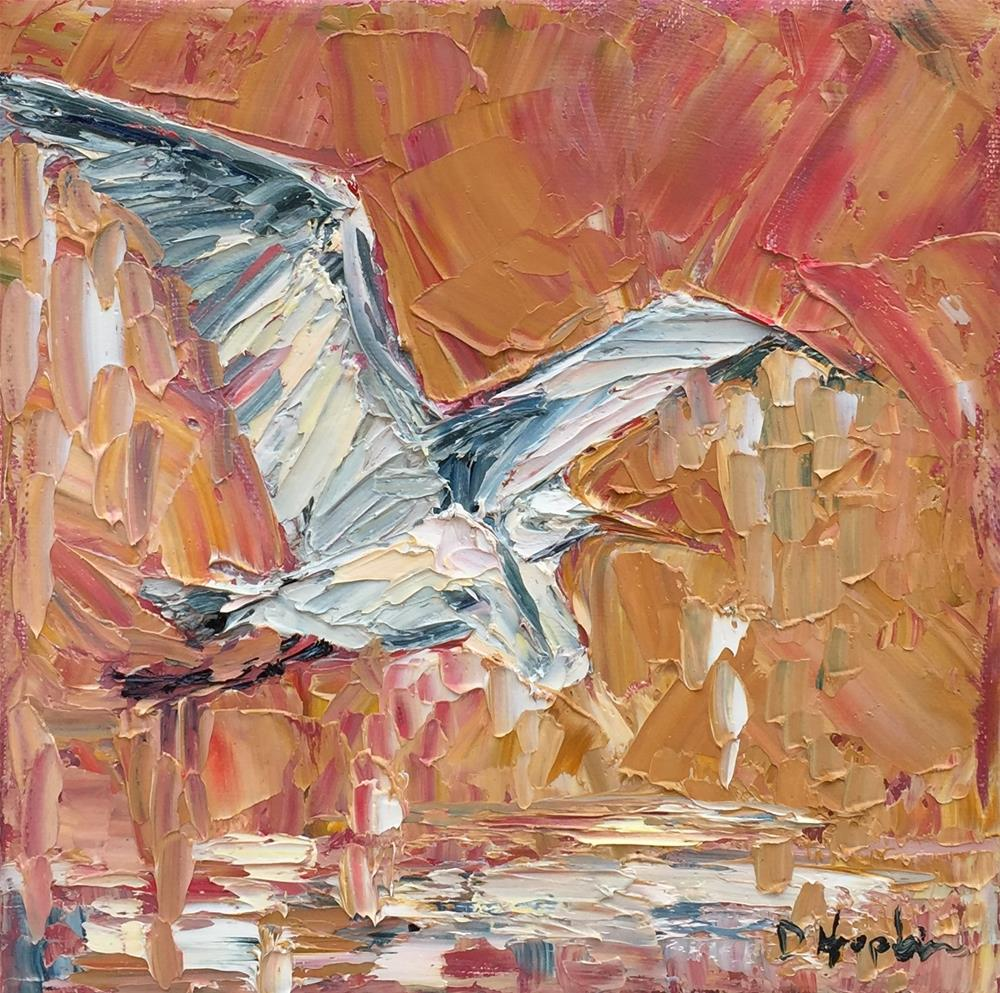 """Melt"" original fine art by Denise Hopkins"