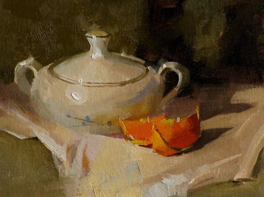 """Sugar Bowl from Sedona"" original fine art by Qiang Huang"