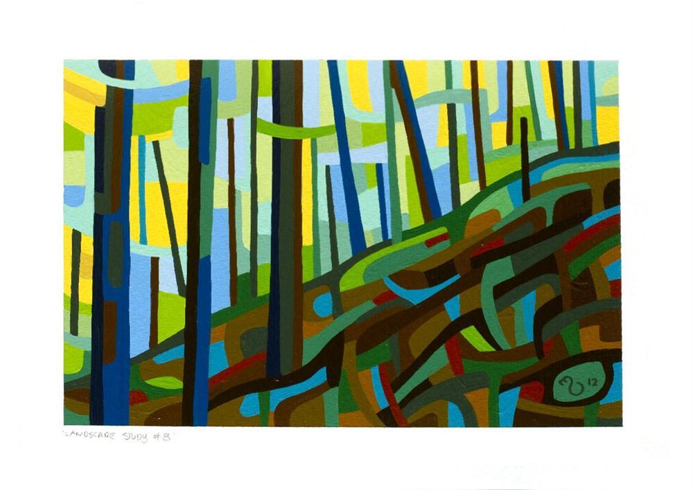 """Landscape Study #8"" original fine art by Mandy Budan"