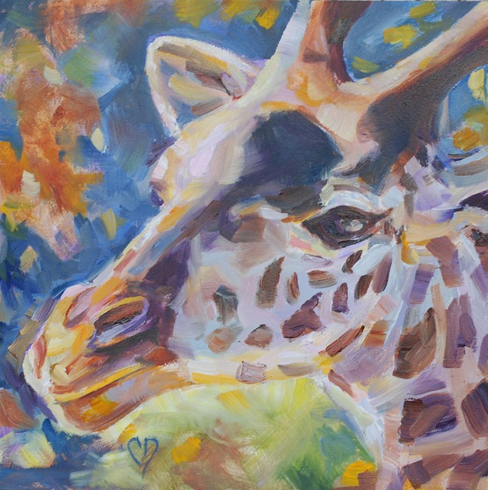"""Gentle Giant"" original fine art by Carol DeMumbrum"