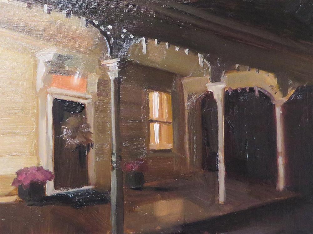 """Julie's Gingerbread"" original fine art by Beth Bathe"