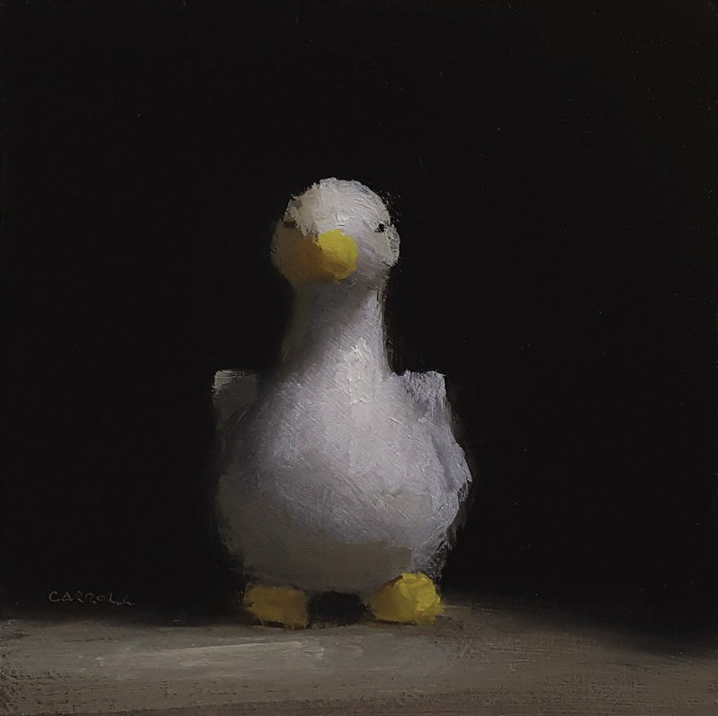 """Duck Egg Cup"" original fine art by Neil Carroll"