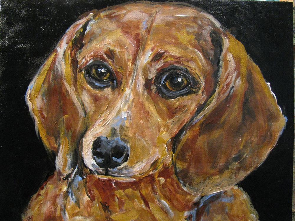 """""""Marty"""" original fine art by Susan Elizabeth Jones"""
