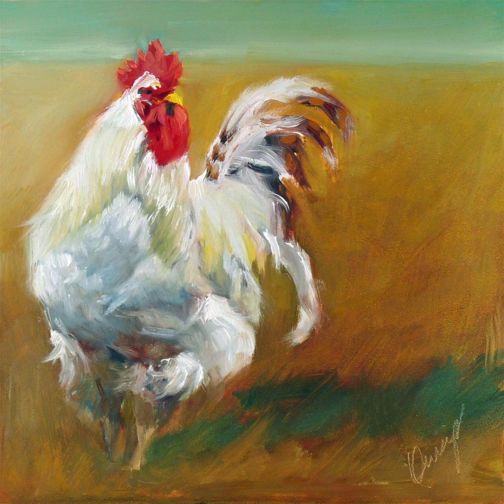 """""""Walks Like A Duck..."""" original fine art by Sharman Owings"""