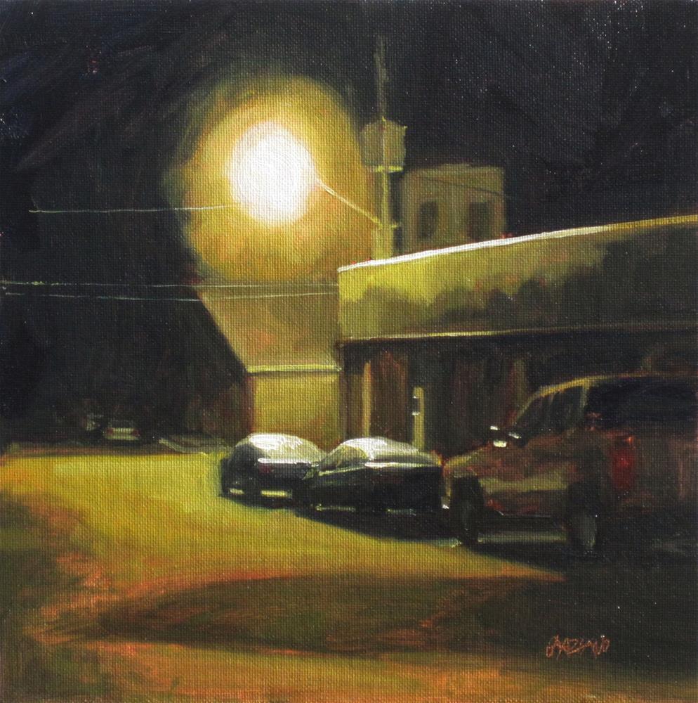 """after midnight"" original fine art by Dan Graziano"