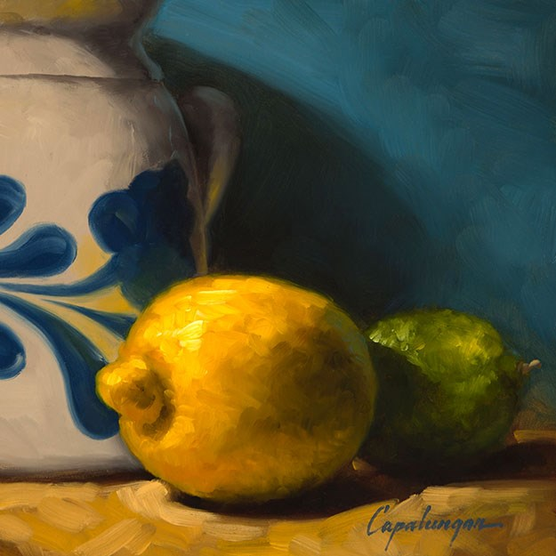 """Tart And Tangy"" original fine art by David Capalungan"