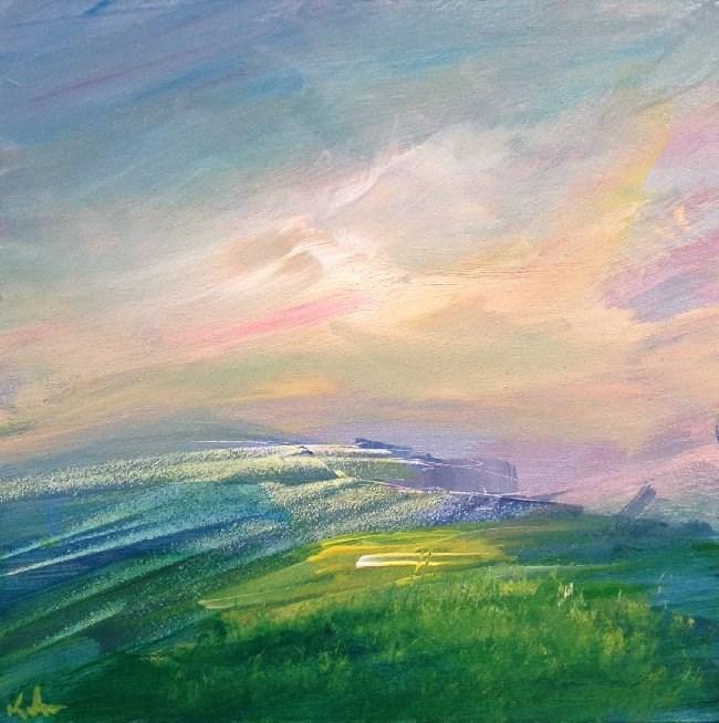 """Before the Wind"" original fine art by David Kuhn"
