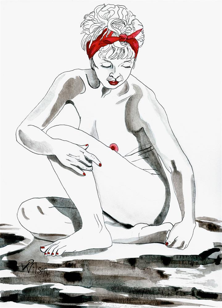 """""""Grounding"""" original fine art by D. Renee Wilson"""