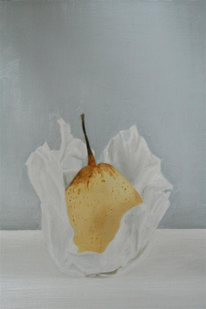 """Chinese Pear"" original fine art by James Coates"