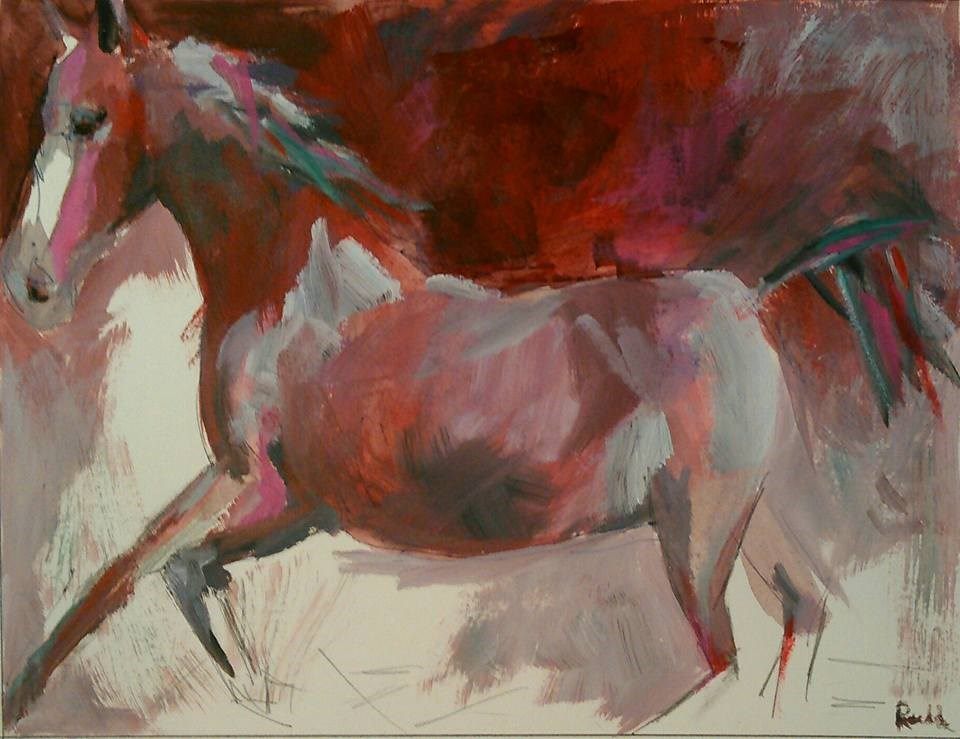 """Untitled"" original fine art by Ann Rudd"