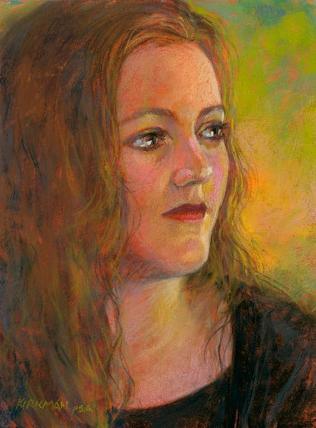 """Anna"" original fine art by Rita Kirkman"