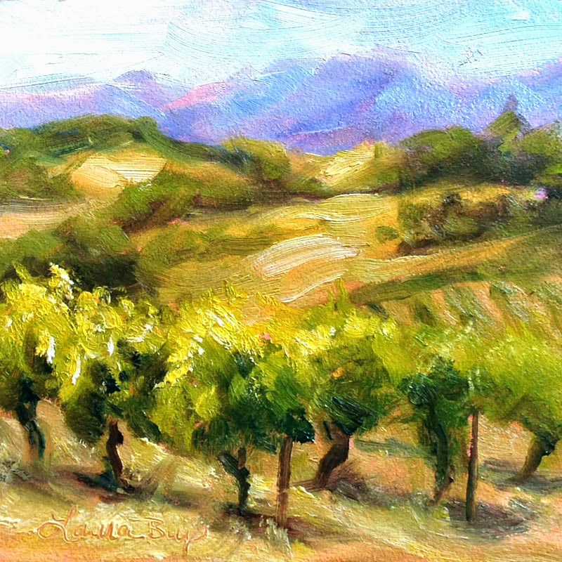 """DPW Vineyard Challenge"" original fine art by Laura  Buxo"