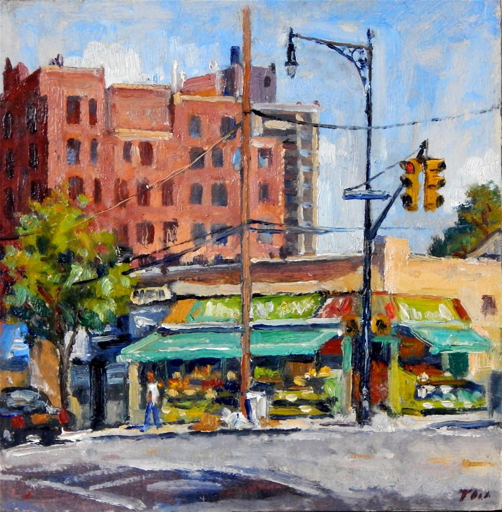 """231st and Kingsbridge, The Bronx"" original fine art by Thor Wickstrom"