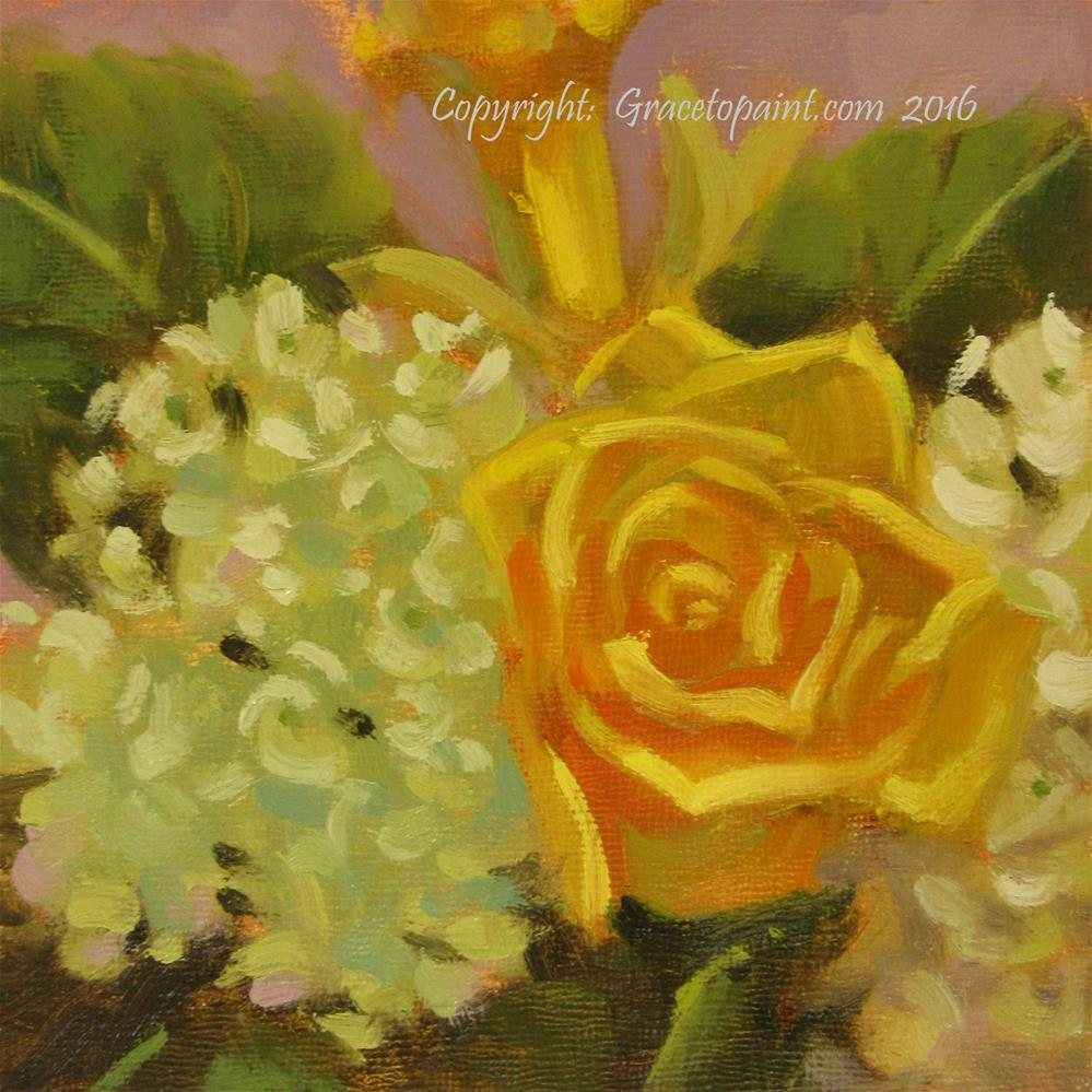 """Slice of Spring"" original fine art by Maresa Lilley"