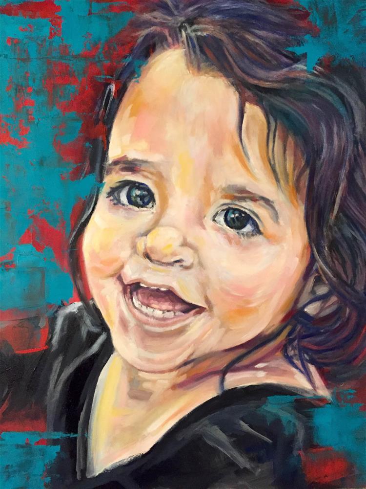 """Naiya"" original fine art by Vy Ngo"