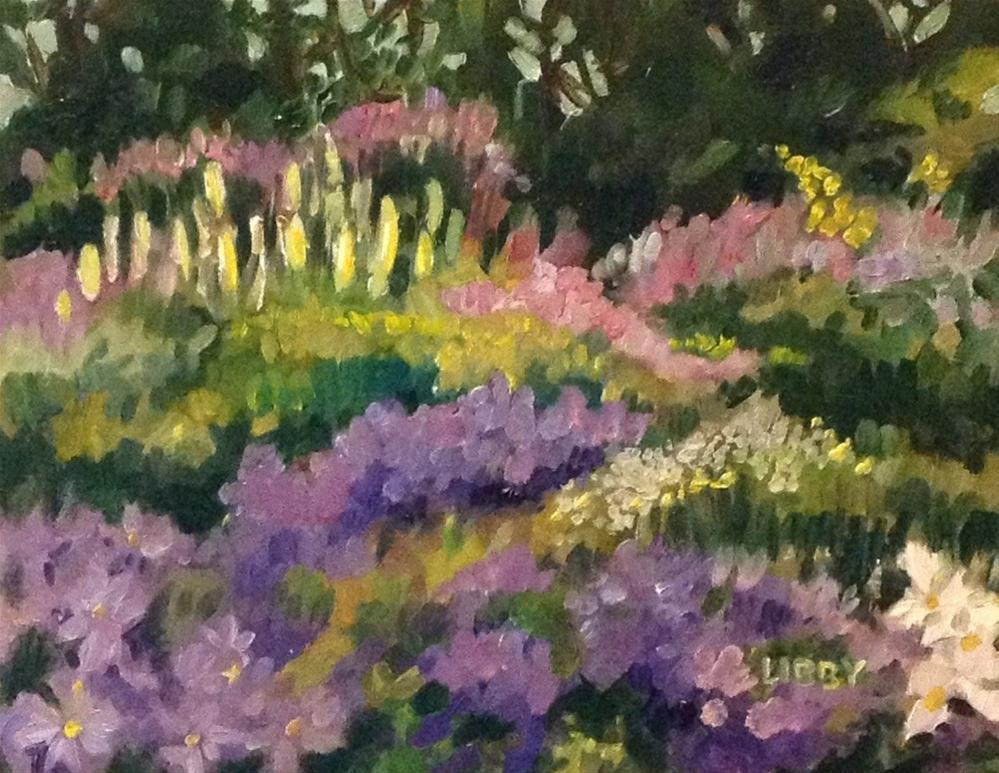 """Quiet Garden"" original fine art by Libby Anderson"