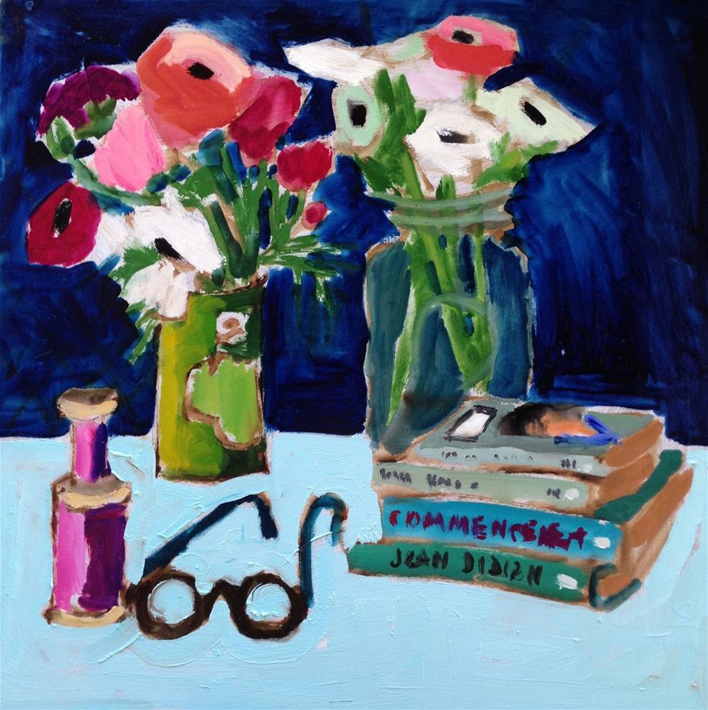 """""""My Favorite Things"""" original fine art by Pamela Hoffmeister"""