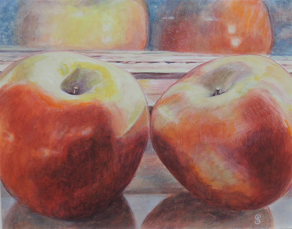 """Basking InThe Sun"" original fine art by Belinda Scheber"