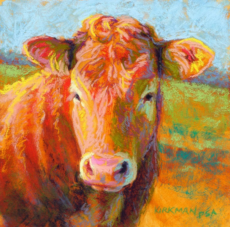 """Brandy"" original fine art by Rita Kirkman"