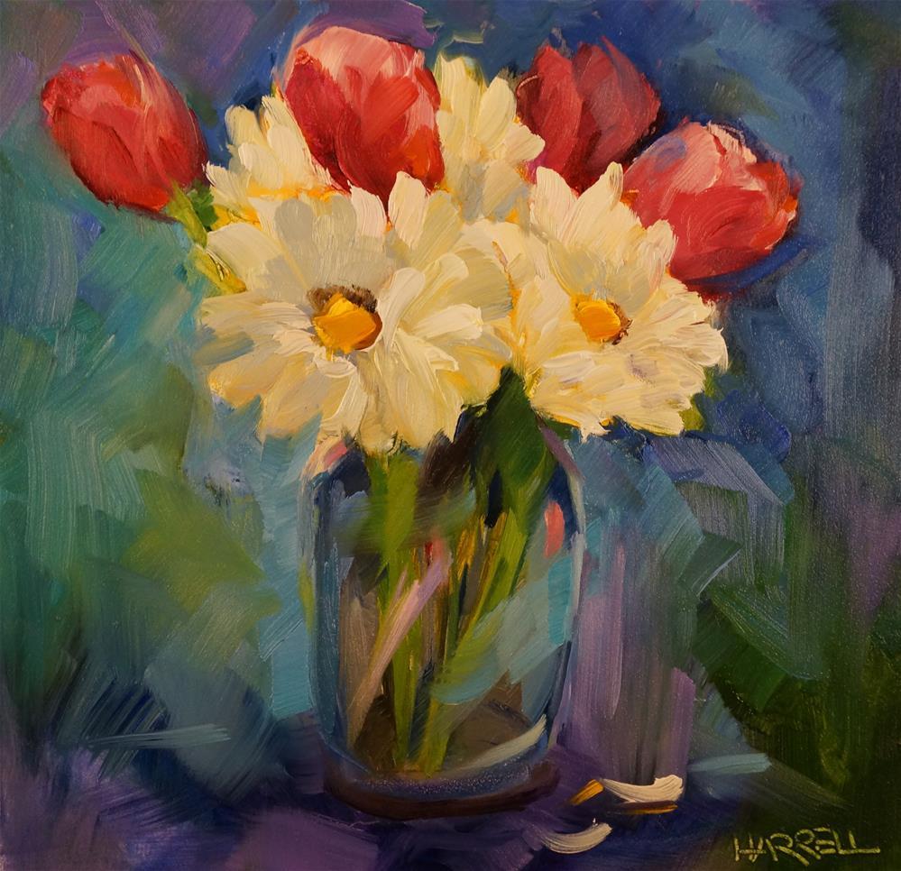 """Garden Delights"" original fine art by Sue Harrell"