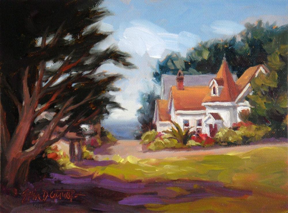 """""""Kasten and Calpella"""" original fine art by Erin Dertner"""